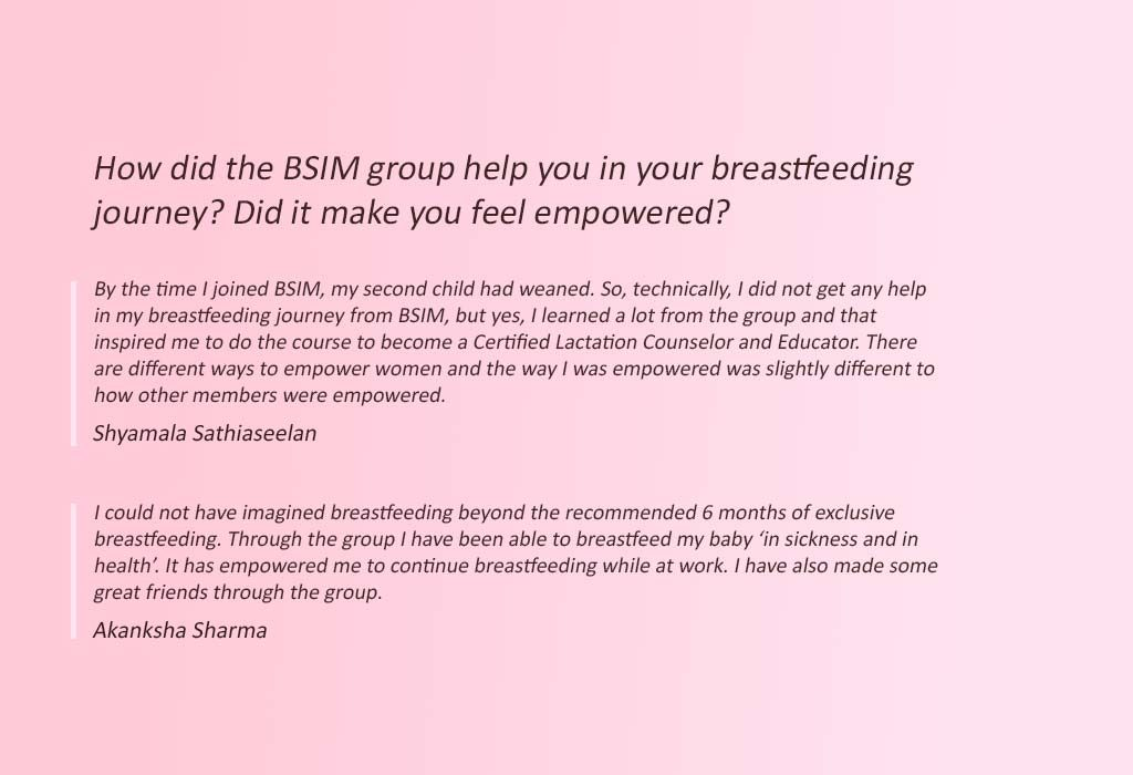 Quotes from the BSIM Team 1
