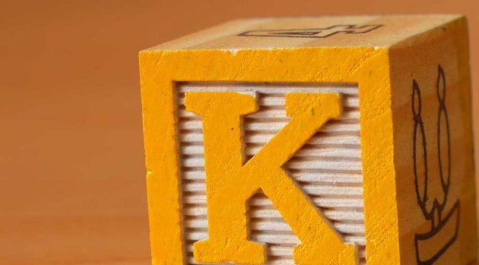 the alphabet K