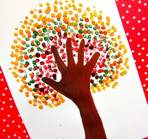 Handprint Painting for Kids