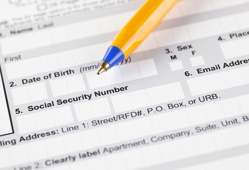 Social security number form