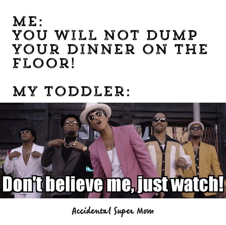 Toddler and Dinner