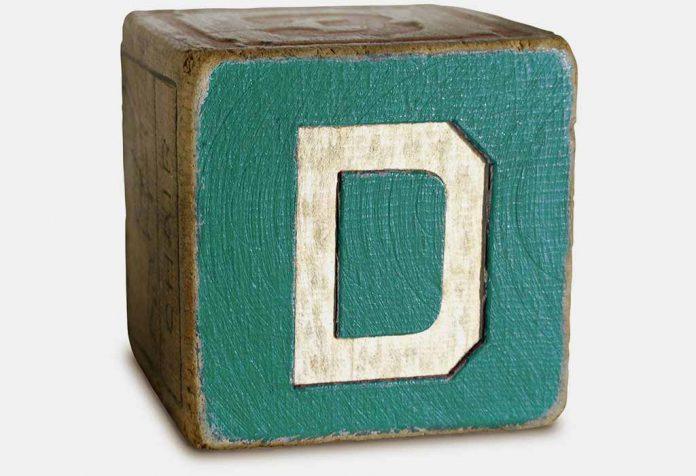 the alphabet D