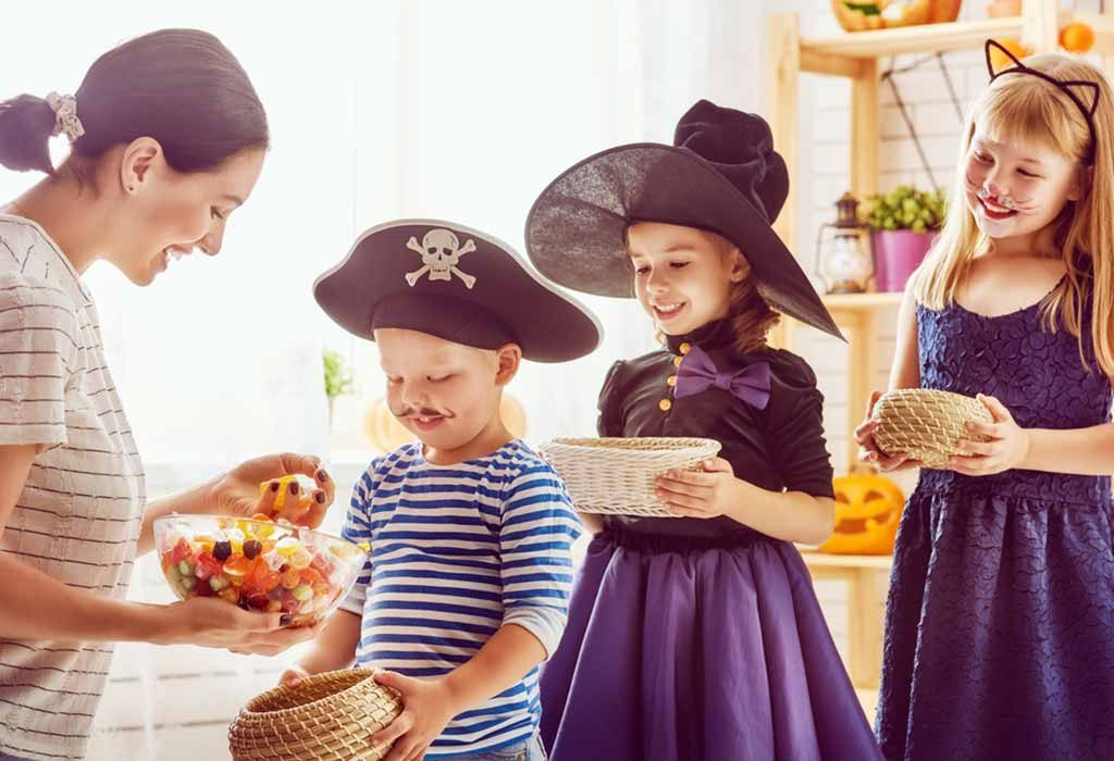 Trick-or-Treat Etiquettes for Kids