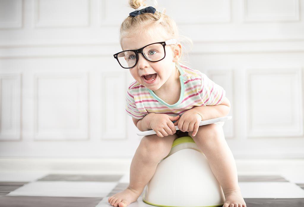girl child potty training