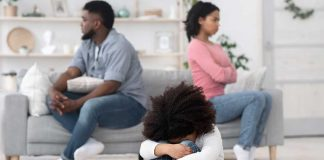 strained relations due to narcissistic parent