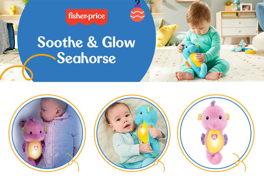 Fisher-Price Seahorse Soother Top
