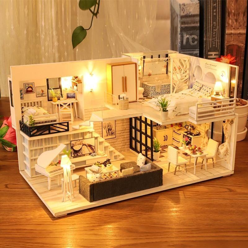DIY Loft Dollhouse