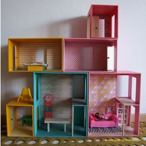 DIY Nested Boxes Dollhouse