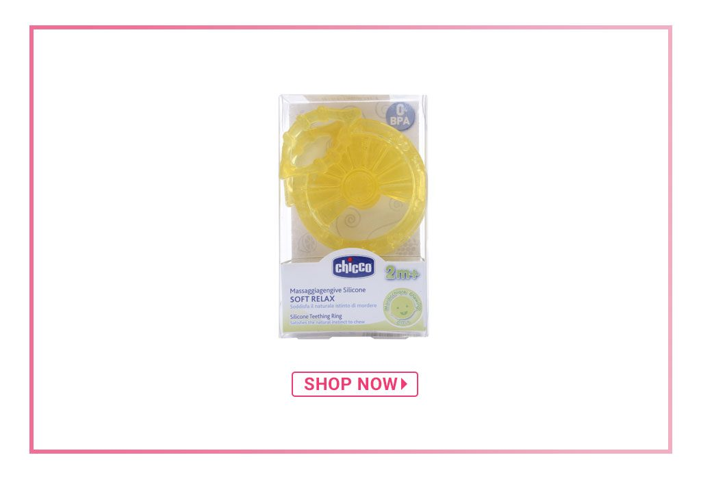 Chicco Soft Relax Teething Ring Set