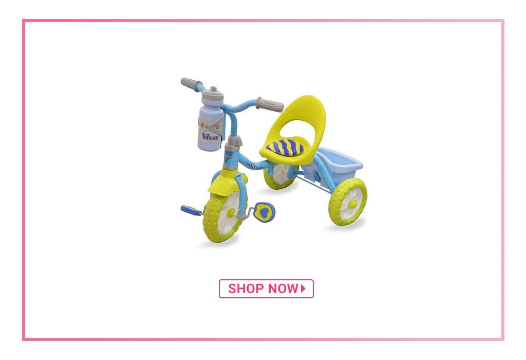Fun Ride Viva Tricycle With Rear Basket