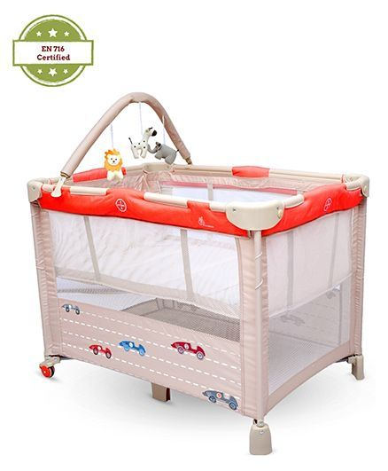 R for Rabbit Hide and Seek Baby Cot Cum Crib
