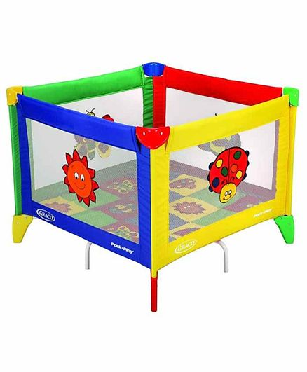 Graco Pack n Play Bugs Quilt Square