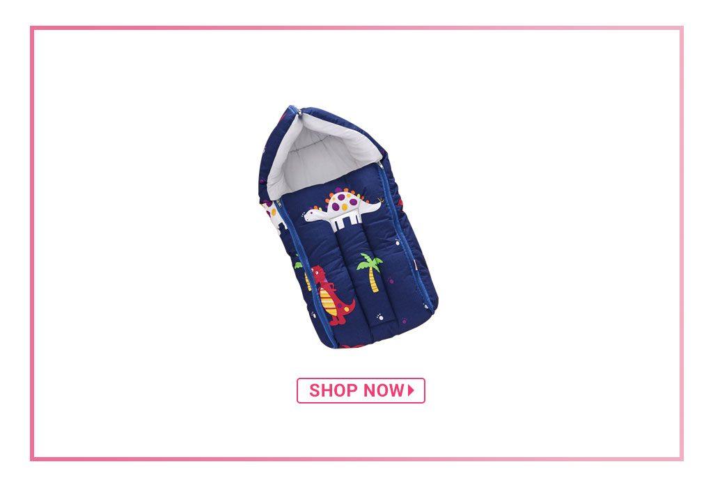 Babyhug Sleeping Bag Dino Print