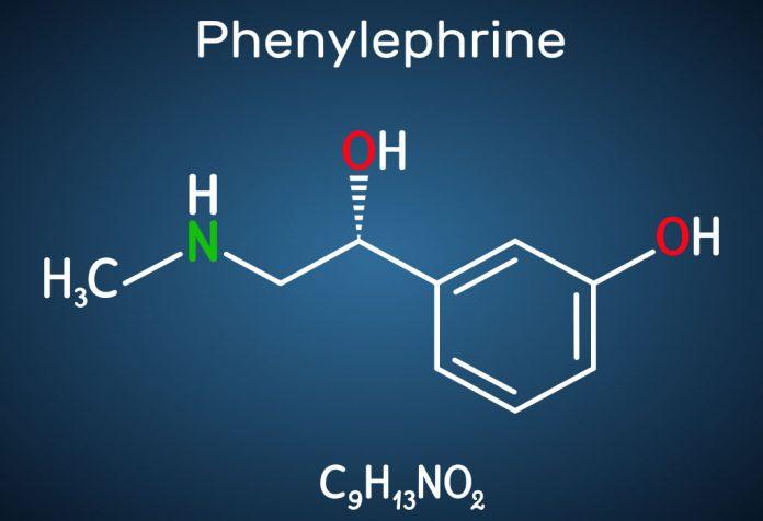 phenylephrine chemical formula