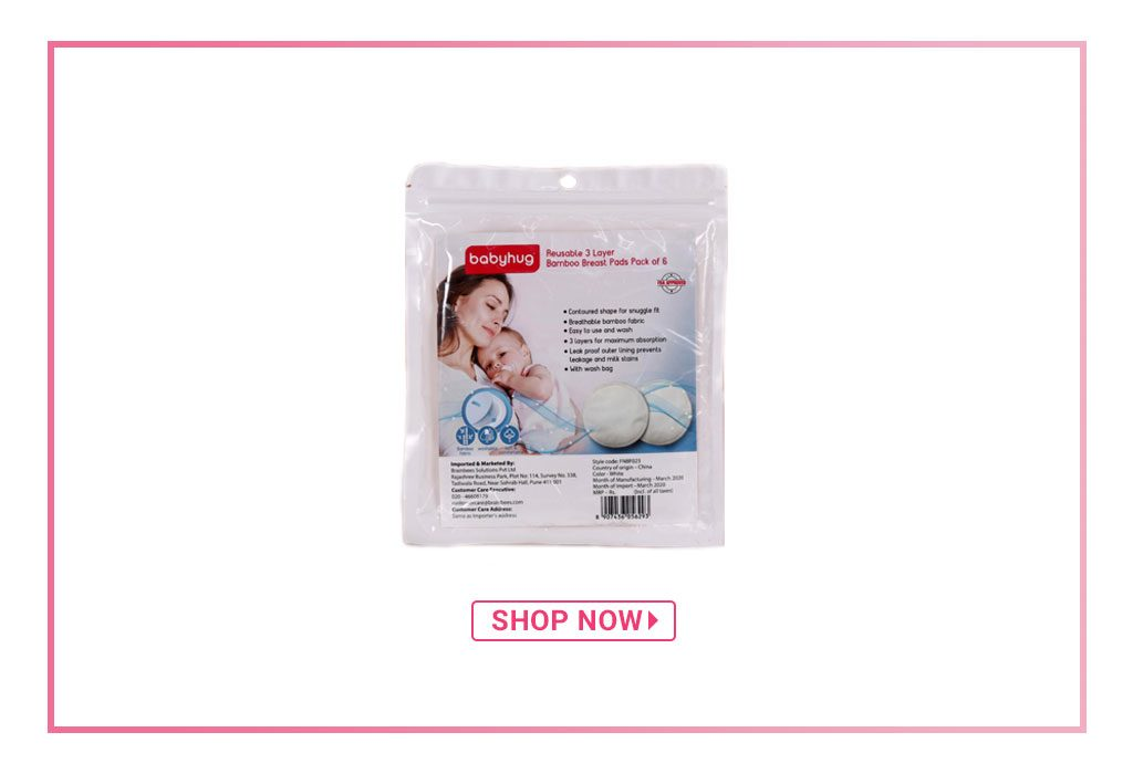 Pigeon Breast Pads White