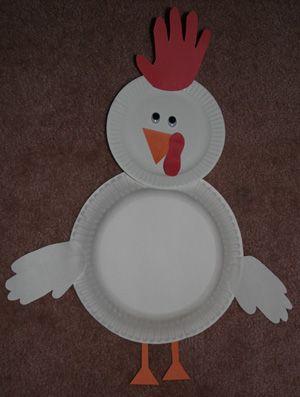 handprint chicken