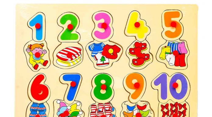 Review: Babyhug Wooden Number Puzzle Multicolour, 20 Pieces