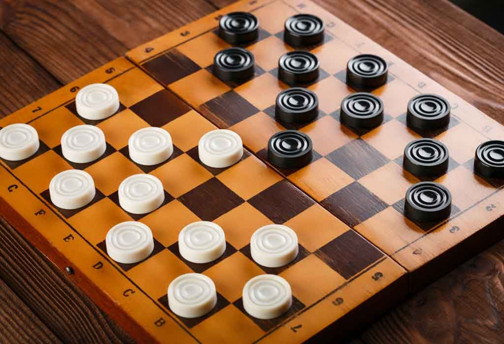 Customised Checkers Game