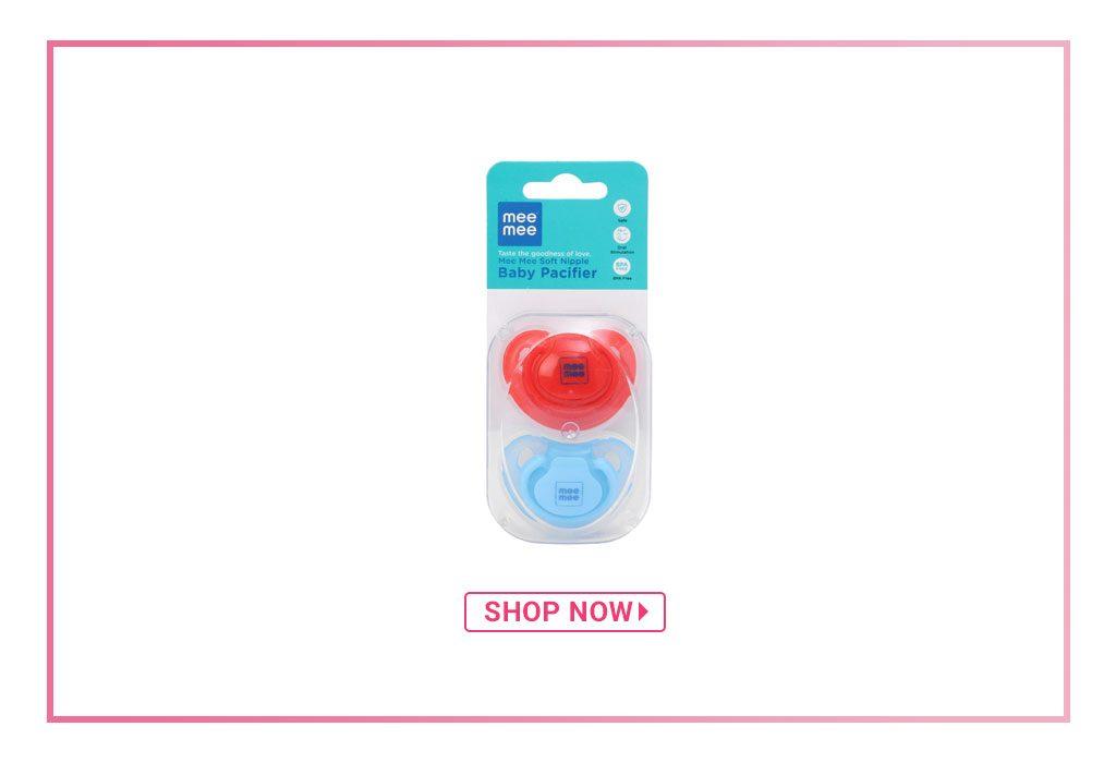 Mee Mee Soft Nipple Baby Pacifier