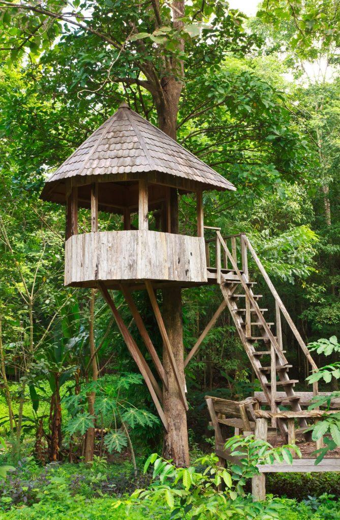 DIY Gazebo Treehouse