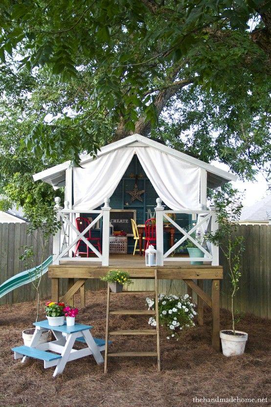 DIY Toddler Play House