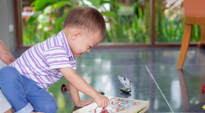 Review: BabyHug Wooden Number Puzzle for kids