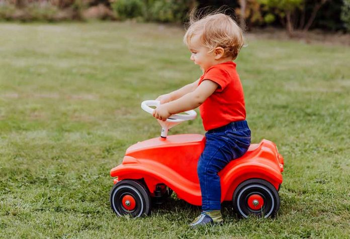 toddler riding ride-on toy