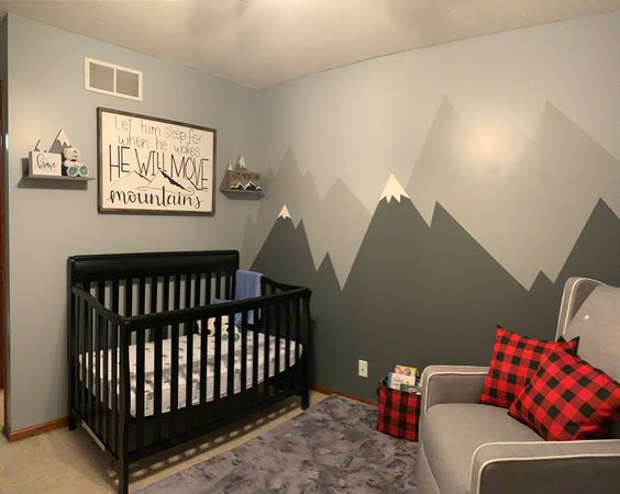 Woodland Mountain Nursery Ideas