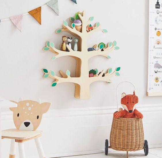 Woodland Nursery Shelf