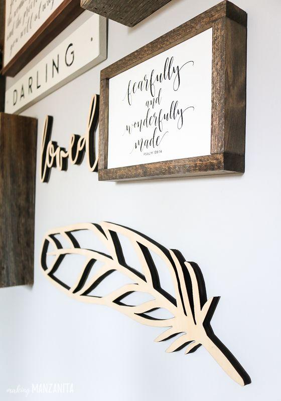 Woodland Gallery Wall