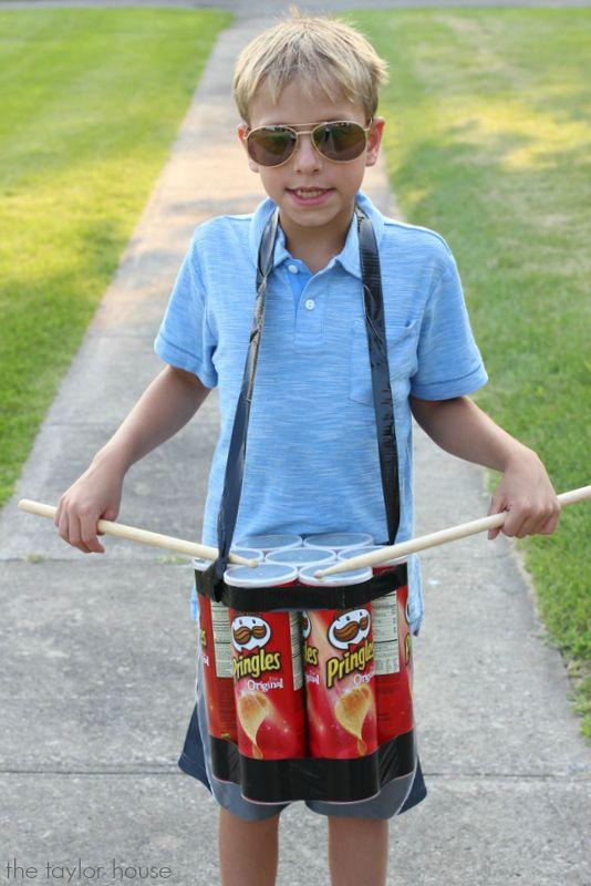 Pringle Can Drum