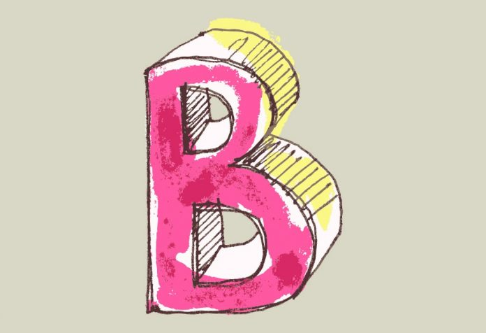 letter 'B' art and craft ideas for kids