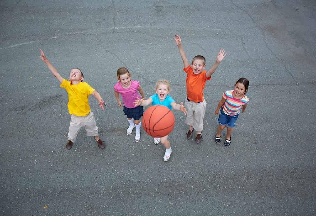 Basketball Games for Children