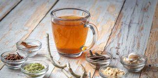 Homemade Kadha for Treating Cough and Cold