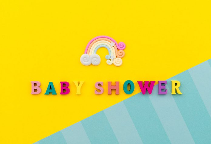 Beautiful Rainbow Themed Baby Shower Ideas