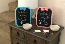 gender reveal guessing game