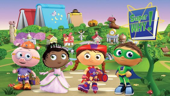 Famous Super Why Cartoon Characters