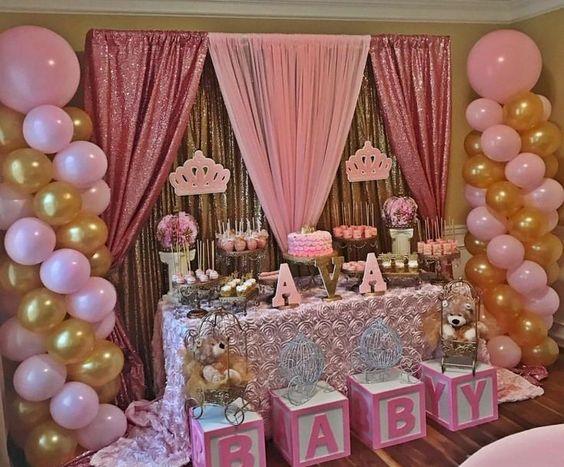 Baby Shower Girl Princess Theme