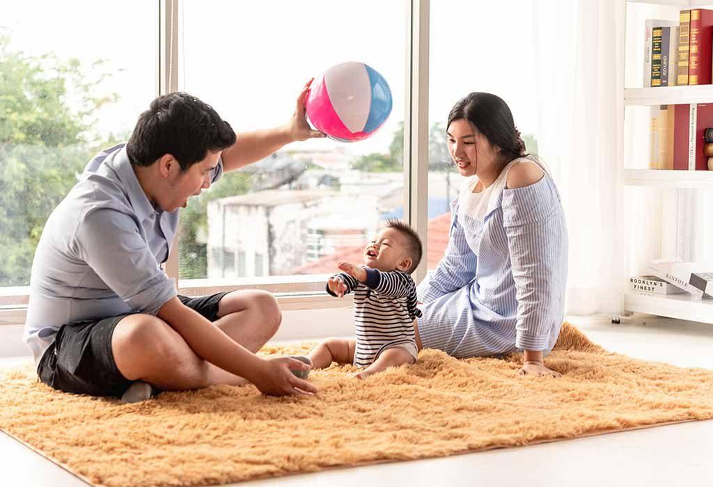Crossing the Midline Activities for Babies