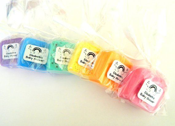 Rainbow Baby Shower Favours