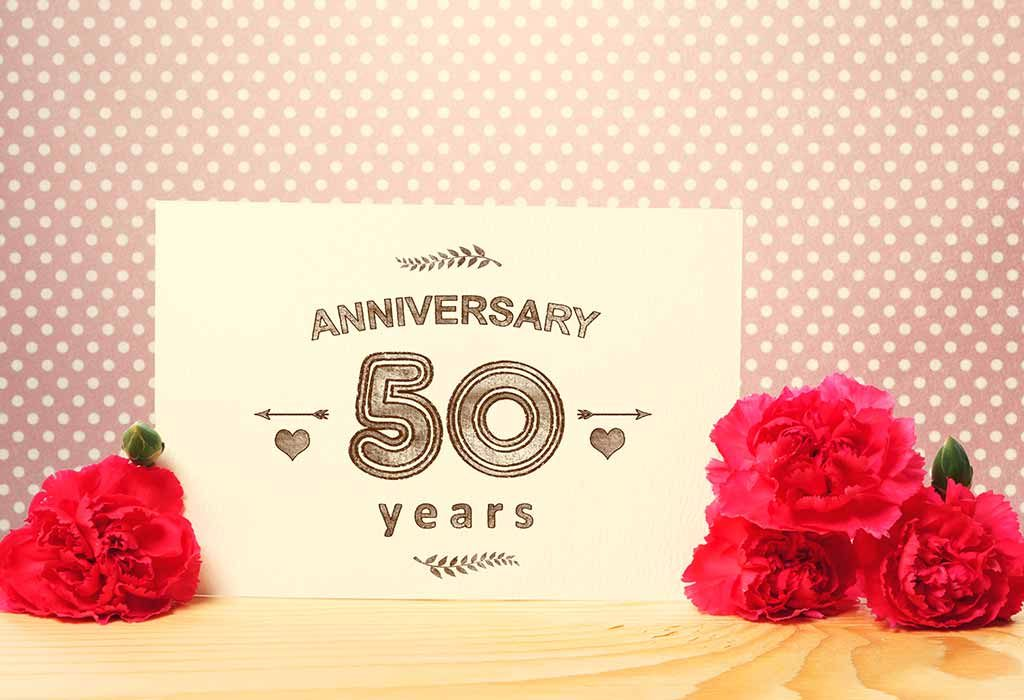 50th-anniversary invitation