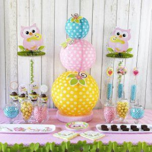 Owl Baby Shower Decorations Ideas