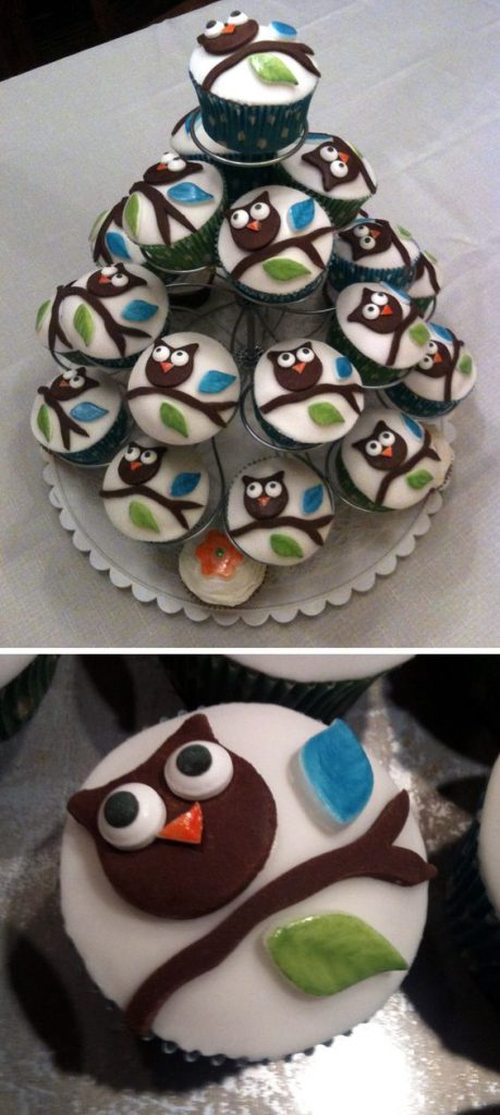 Owl Baby Shower Cupcake And Desserts
