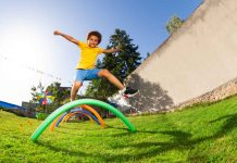 Easy Obstacle Course Ideas for Young Kids