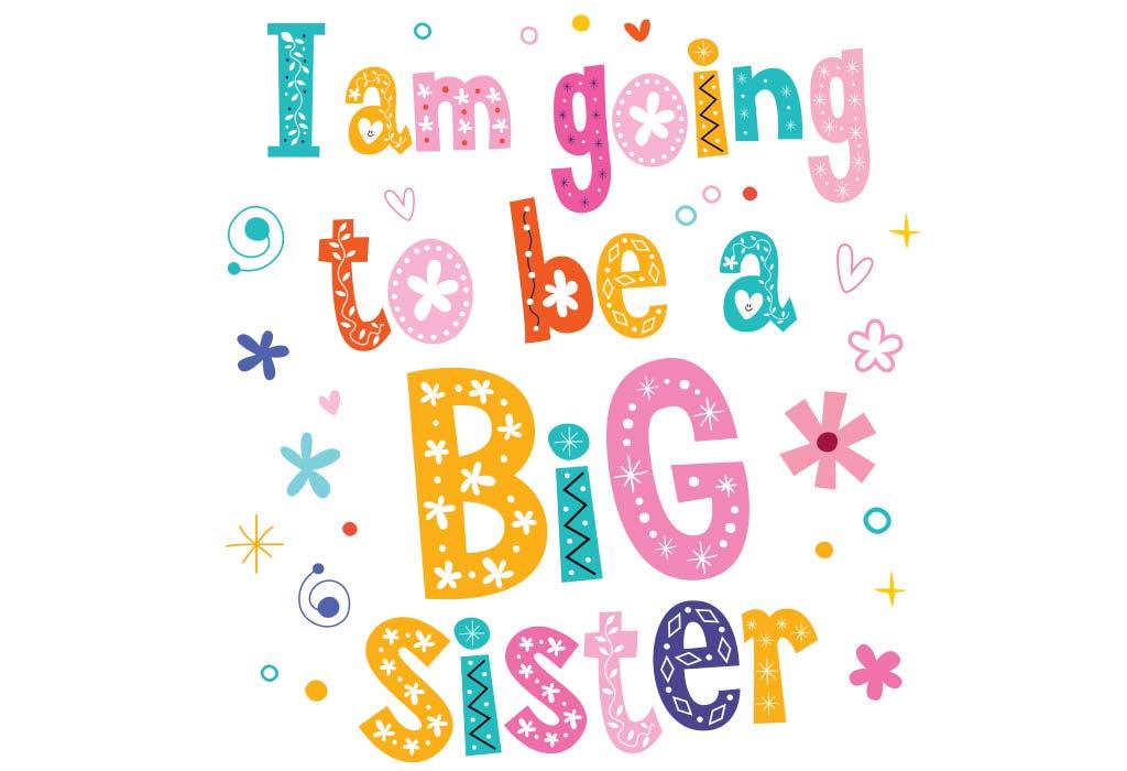 Pregnancy Announcement - Big Sister Photo Strip