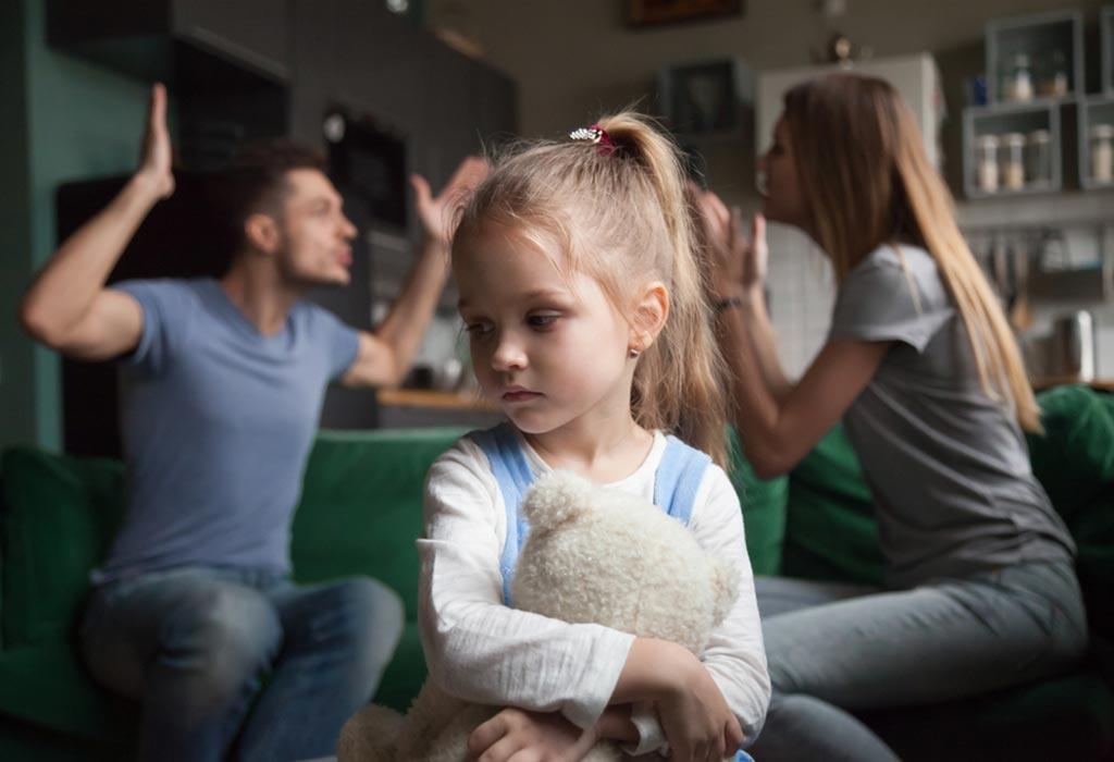 Temporary custody of a child