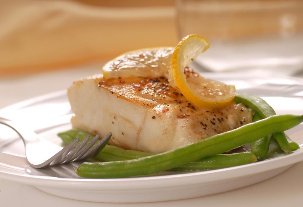 Cod With Green Beans