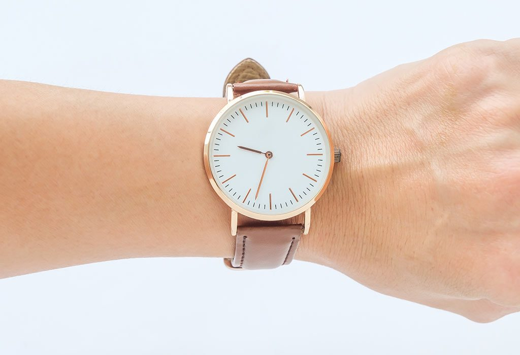 A watch as a Valentine's Day Gift for Moms