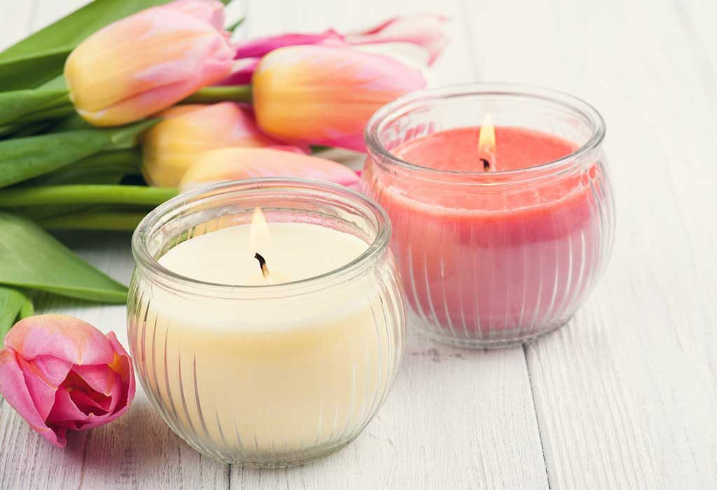 Scented Candles as a Valentine's Day Gift