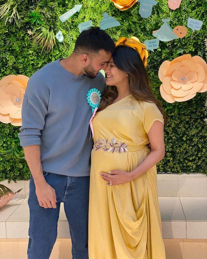 Anita Hassandani baby shower